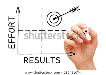 Results Effort Graph Stock photo © ivelin
