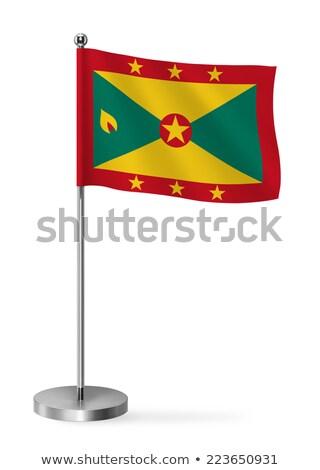 miniatuur · vlag · Grenada · geïsoleerd · business - stockfoto © bosphorus