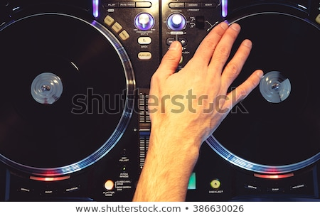 Disc Jockey Top View Stock photo © derocz
