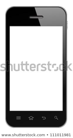Isolé noir vecteur eps10 internet Photo stock © MPFphotography