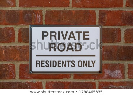 privacy information on highway signpost stock photo © tashatuvango