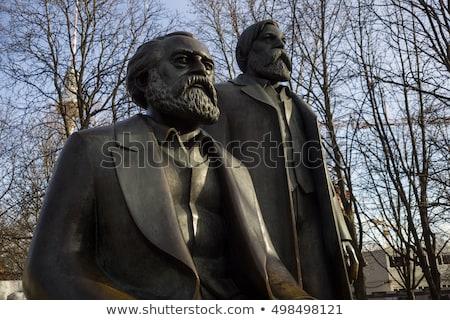 Marx-Engels-Monument in Germany Berlin  Stock photo © meinzahn