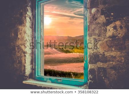 tuscan windows Stock photo © Mikola249