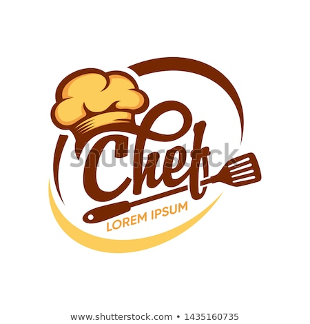 menu logo with chef cap stock photo © loopall