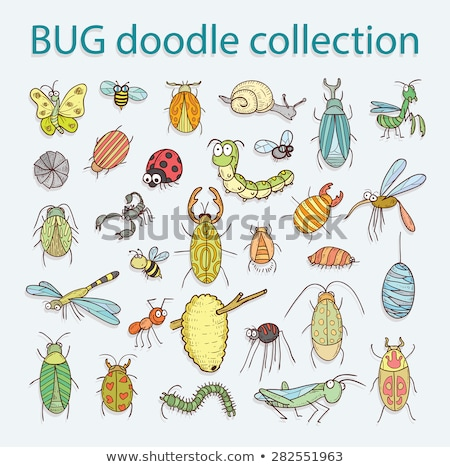 comic cartoon bug Stock photo © lineartestpilot