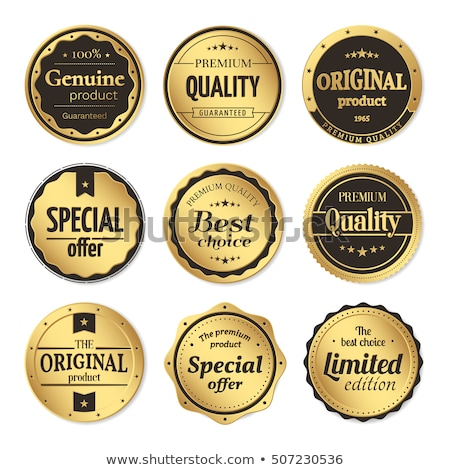 Limited Collection golden Vector Icon Design Stock photo © rizwanali3d