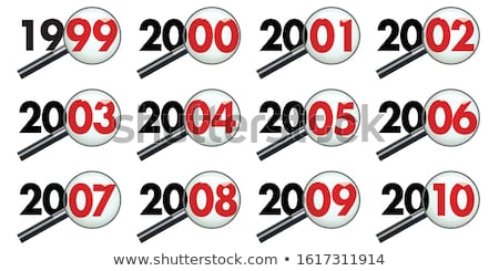 увеличительное · стекло · календаря · день · страница · бизнеса · черный - Сток-фото © andreypopov
