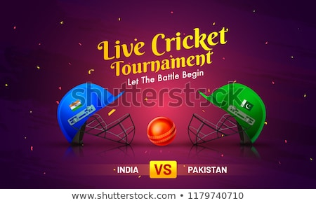 críquete · capacete · ícone · cara · esportes · cabeça - foto stock © dxinerz
