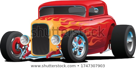 Classic American Street Rod stock photo © jeff_hobrath