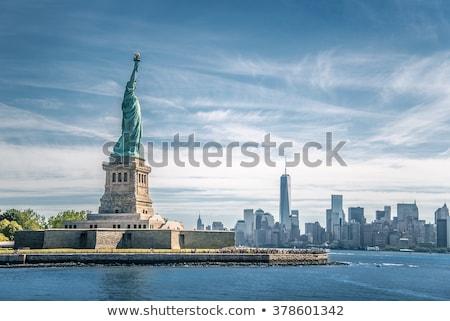 像 · 自由 · 水 · フェリー · 島 · アメリカ - ストックフォト © rmbarricarte