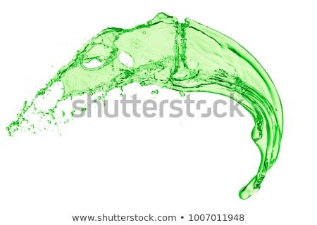 kiwi · salpico · fruto · verão · verde - foto stock © kubais