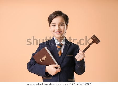 Judge With Gavel And Book Stock photo © AndreyPopov