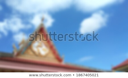 Dome of the temple, blur abstract background Stock photo © Zhukow