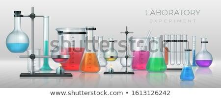 Lab glassware Stock photo © ozaiachin