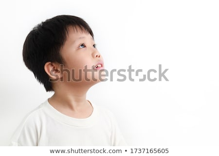 Young Boy Looking to the Side Stock photo © ozgur