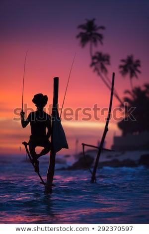 pesca · pueblo · edad · barcos · hasta - foto stock © joyr