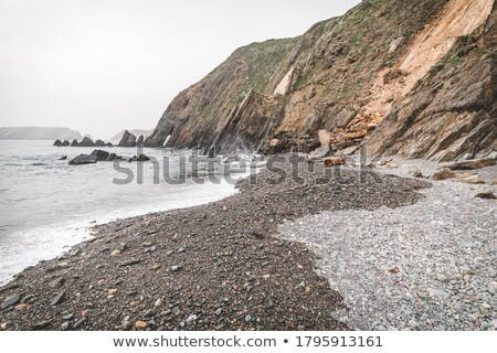 cliffs on the wild atlantic way at low tide Stock photo © morrbyte