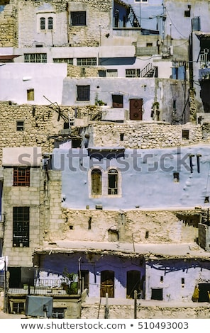 Aldeia Síria cristão montanha jesus guerra Foto stock © meinzahn