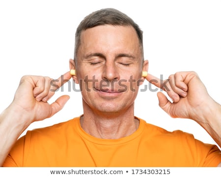 young caucasian man portrait stock photo © zurijeta