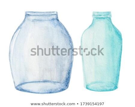 trasparente · brocca · due · acqua · potabile · fresche - foto d'archivio © dariazu