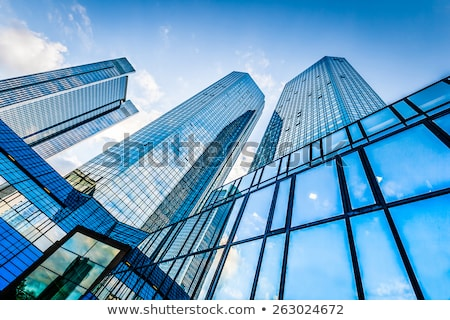 Alto prédio comercial ilustração branco escritório casa Foto stock © bluering