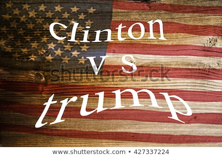 Presidential Candidates Donald Trump Vs Hillary Clinton Stock photo © doddis