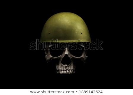 солдата поле боя иллюстрация лес деревья войны Сток-фото © bluering