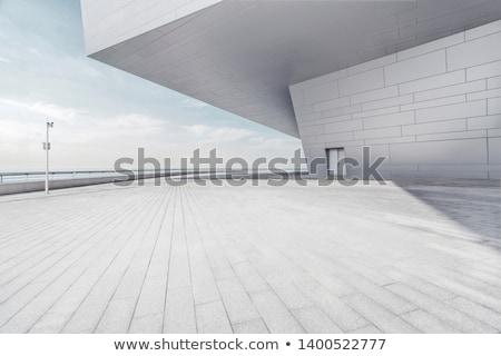 modern empty parking Stock photo © ssuaphoto