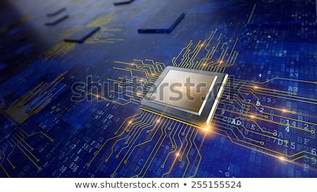 Micro chip unit stock photo © pakete