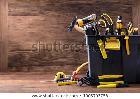 инструменты различный таблице работу промышленных Сток-фото © racoolstudio
