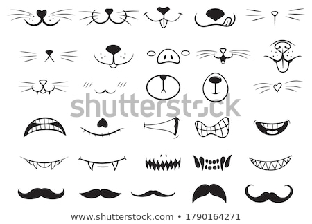 Set of different types of animals Stock photo © bluering