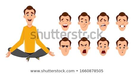 Men doing different types of jobs Stock photo © bluering