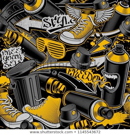 линия дизайна движения улице здоровья Сток-фото © kali