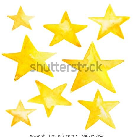 stars painted stock photo © blackmoon979
