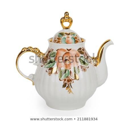 Китай · чайник · Кубок · продовольствие · таблице · время - Сток-фото © haak78