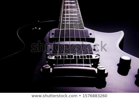 Basse guitare perspectives photo électriques Photo stock © sumners