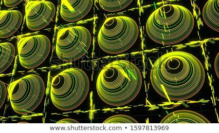 черный частицы фон будущем химии 3D Сток-фото © SArts