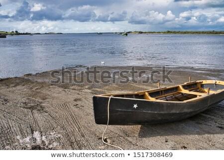 Stok fotoğraf: Old Rotten Fisher Boat