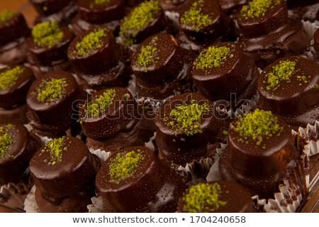 dois · chocolate · delicioso · caseiro - foto stock © jarp17