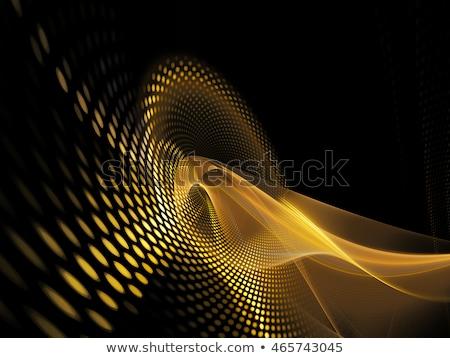 黄色 黒 ハーフトーン 背景 レトロな パターン ストックフォト © SArts