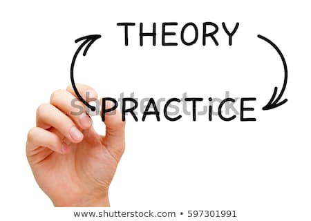 Theory Practice Arrows Concept Stock photo © ivelin