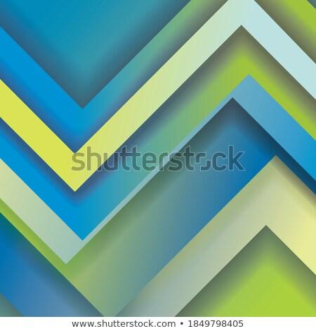 Absztrakt kék mozaik galaxis nézőpont üveg Stock fotó © SwillSkill