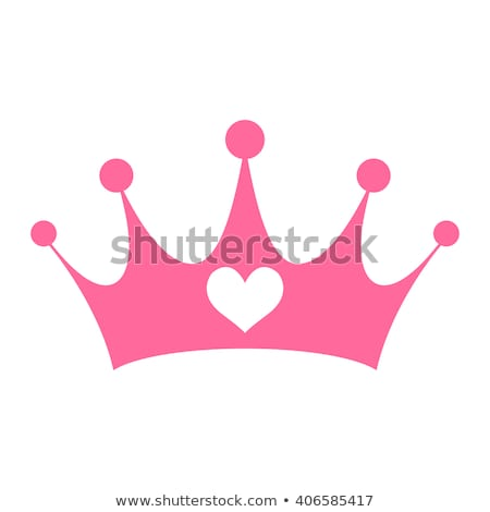 Princess with crown Stock photo © ongap