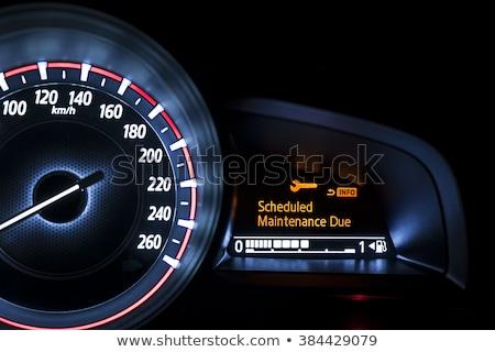 Hazard Dashboard Light Stock photo © albund