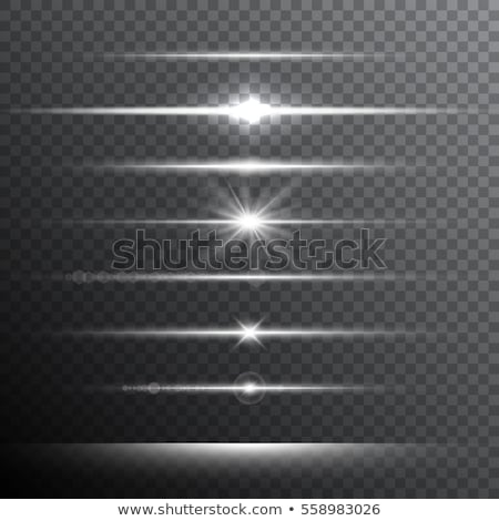 Optical Light Lens Flare and Star Effect, Realistic Flash with Glittering Lights Stock photo © Loud-Mango