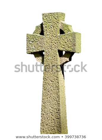 Old stone cross Stock photo © Hofmeester