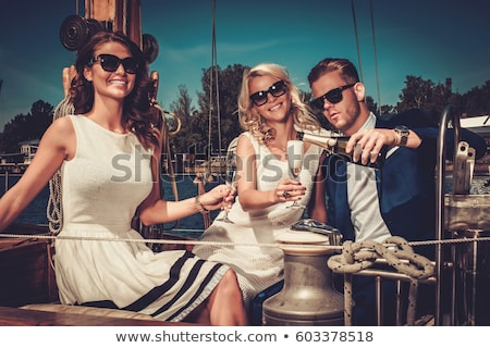 Yacht and glamour. Stock photo © Fisher