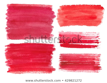 Watercolor grunge red stain Stock photo © Sonya_illustrations