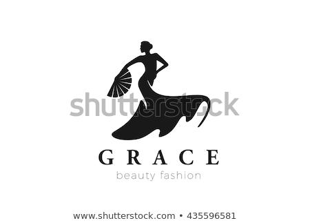 Vrouwelijke danser dansen spaans vrouw meisje Stockfoto © Elnur