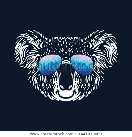 Stock photo: Koala Wearing Sunglasses
